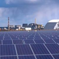 Сонячну електростанцію в Чорнобилі планують здати в експлуатацію до кінця року