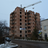 Хід будівництва ЖК по вулиці Богдана Хмельницького станом на грудень