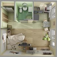 Як вибрати або перебудувати маленьку квартиру в новобудові під себе