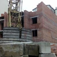 Хід будівництва ЖК по вулиці Незалежності станом на грудень