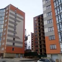 """Хід будівництва комплексу """"Містечко Соборне"""" станом на грудень 2017 року"""