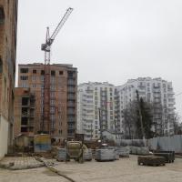 Хід будівництва ІІІ черги житлового комплексу поблизу парку імені Шевченка