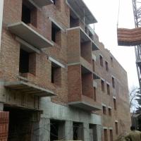 Хід будівництва житлового комплексу на вулиці Залізнична станом на грудень 2017 року
