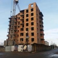Хід будівництва ЖК по вул. Хмельницького станом на січень. Фото