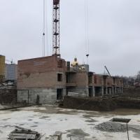 """Хід будівництва ЖК """"Квартал Гімназійний"""" станом на січень 2018р."""