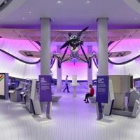 Дивовижний зал математики в Лондонському музею науки від Zaha Hadid Architects