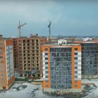 """Хід будівництва мікрорайону """"Містечко Соборне"""" станом на лютий"""
