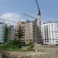 Хід будівництва житлового комплексу поблизу парку ім.Т.Шевченка