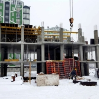 "Хід будівництва житлового комплексу ""COMFORT PARК"" станом на лютий"