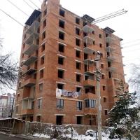 Хід будівництва ЖК по вулиці Хмельницького станом на лютий