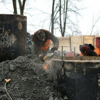 В Івано-Франківську триває будівництво нового моста на Пасічну