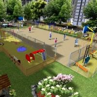 Харківська фірма виграла тендер на будівництво спортивного майданчика на Вовчинецькій