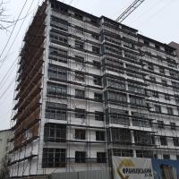 Хід будівництва ЖК по вул.Сніжна, 52 станом на кінець березня 2018 року