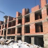 """Хід будівництва """"Кварталу Гімназійний"""" у березні"""