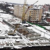 Хід будівництва житлового комплексу поблизу парку ім. Шевченка