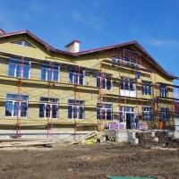 В Хриплині будують нову школу. ФОТО
