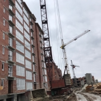 "Хід будівництва ЖК ""Левада Дем'янів Лаз"" у квітні"