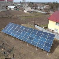 Сонячну електростанцію потужністю 15 кВт змонтували в Городенці