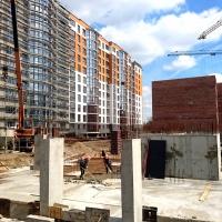 "Хід будівництва ЖК ""Паркова алея"" у квітні"