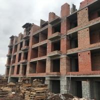 """Хід будівництва ЖК """"Квартал Гімназійний"""" станом на квітень"""
