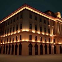 Головний корпус Івано-Франківського медуніверситету підсвітять