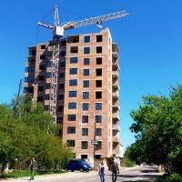 Хід будівництва ЖК по вул. Хмельницького станом на травень 2018 року