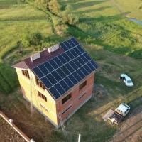 Сонячну електростанцію потужністю 13 кВт змонтовано в Підмихайлі