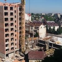 Хід будівництва ЖК по вул. Незалежності у червні