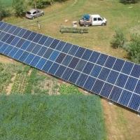 На Прикарпатті збудували сонячну електростанцію потужністю 20 кВт