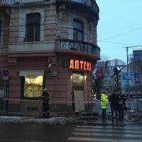 У Франківську вкотре не знайшли охочих реставрувати пам'ятку архітектури в середмісті, де обвалився балкон