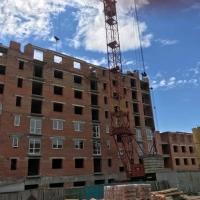 """Хід будівництва Кварталу """"Гімназійний"""" у липні"""