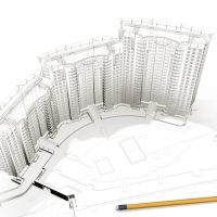 У Франківську на громадське обговорення винесено проект багатоквартирного будинку поруч міського озера