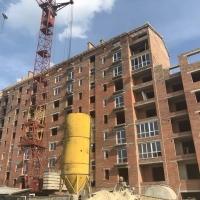 """Як проходить будівництво """"Кварталу Гімназійний"""" станом на вересень"""