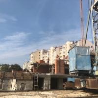 """Хід будівництва Кварталу """"Галицький"""" у вересні"""