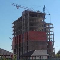 Фотозвіт з будівництва ЖК Crystal River станом на вересень