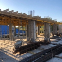 """Хід будівництва бізнес-центру """"River Plaza"""" станом на жовтень"""