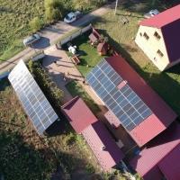 Сонячну електростанцію 30 кВт змонтовали в Гончарівці