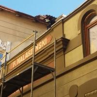 Реставратори розшифрували старовинний напис на будівлі в центрі Івано-Франківська