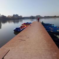 У Франківську взялися за ремонт станції для прокату човнів