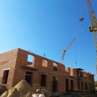 Житловий комплекс поблизу парку Шевченка: хід будівництва у жовтні