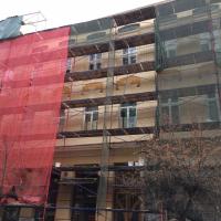 Реставрацію фасаду історичного будинку на Курбаса завершать до кінця весни