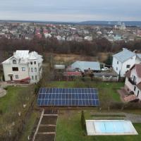 В приміському селі Угринів спорудили сонячну електростанцію потужністю 17 кВт
