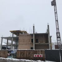 Хід будівництва «River Plaza» станом та листопад