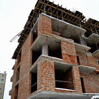 Стан будівництва ЖК по вул. Незалежності у листопаді