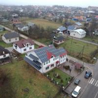 Сонячну електростанцію 35 кВт змонтували в Герині. ФОТО