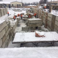 """Хід будівництва ЖК """"Гетьманський"""" у січні 2019"""