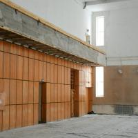У Франківську взялися за ремонт спортзалу в Муніципальному центрі дозвілля