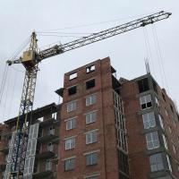 """Будівництво кварталу """"Виноградний"""" в лютому 2019"""