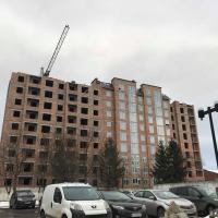 """Фотозвіт з будівництва ЖК """"Парковий маєток"""" в лютому 2019"""