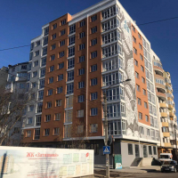 """Хід будівництва ЖК """"Затишний"""" у лютому 2019"""